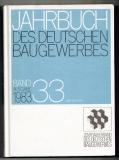Jahrbuch des deutschen Baugewerbes.